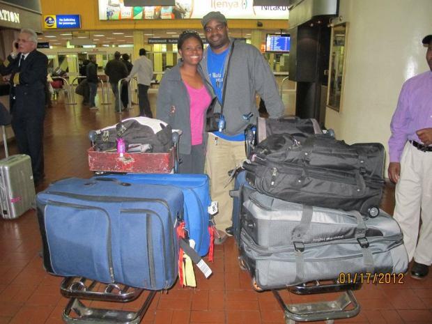 The Harriott's leaving for Africa Jan. 2012
